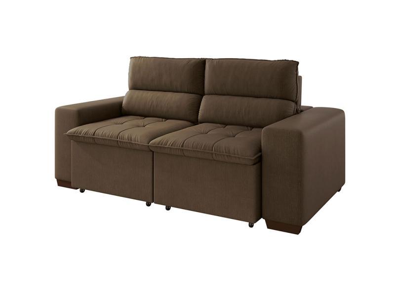 Enjoyable Sofa 3 Lugares Retratil Reclinavel Royalle Linoforte Machost Co Dining Chair Design Ideas Machostcouk