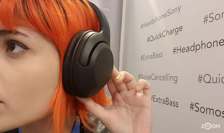 Sony lança primeiro fone Extra Bass com cancelamento de ruído no Brasil