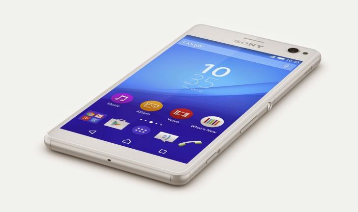 Sony Xperia C4, um novo smartphone para selfies