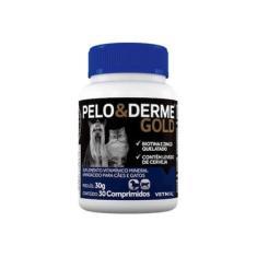 Suplemento Vetnil Pelo E Derme Gold