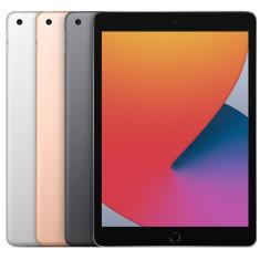 "Tablet Apple iPad 8ª Geração Apple A12 Bionic 4G 128GB Retina 10,2"" iPadOS 14 8 MP"