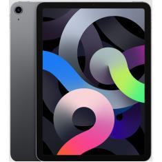 """Tablet Apple iPad Air 4ª Geração Apple A14 Bionic 256GB Liquid Retina 10,9"""" iPadOS 12 MP"""