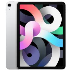 "Tablet Apple iPad Air 4ª Geração Apple A14 Bionic 4G 256GB Liquid Retina 10,9"" iPadOS 14 12 MP"