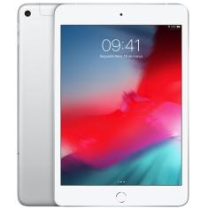 "Tablet Apple iPad Mini 5ª Geração Apple A12 Bionic 4G 256GB Retina 7,9"" iOS 12 8 MP"