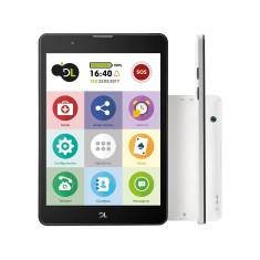 "Tablet DL Eletrônicos TabFácil 8GB 3G 7,8"" 2 MP Android 7.0 (Nougat)"