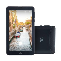 "Tablet DL Eletrônicos Futura 8GB 3G 7"" Android 7.0 (Nougat)"