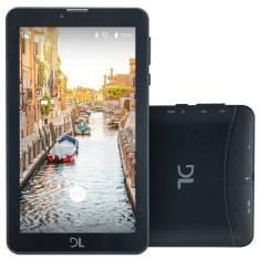 "Tablet DL Eletrônicos 3G 8GB TFT 7"" Android 7.0 (Nougat) Mobi"