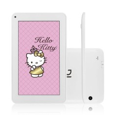 "Foto Tablet DL Eletrônicos Hello Kitty Tab 4GB 7"" Android 4.4 (Kit Kat)"
