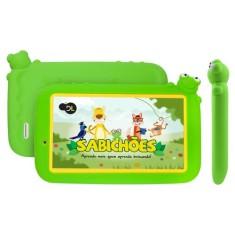 "Tablet DL Eletrônicos Sabichões TX386 8GB 7"" Android 7.0 (Nougat)"