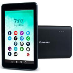 """Tablet Everex Quad Core 16GB LCD 7"""" Android 8.1 (Oreo) 2 MP"""