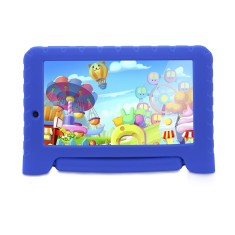 "Foto Tablet Multilaser Kid Pad Plus 8GB 7"" Android 2 MP Filma em HD"