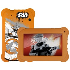"Foto Tablet Multilaser Star Wars NB238 8GB 7"" Android 2 MP 4.4 (Kit Kat)"