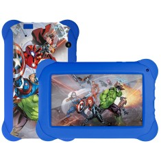 "Foto Tablet Multilaser Disney Vingadores NB240 8GB 7"" Android 2 MP Filma em HD"