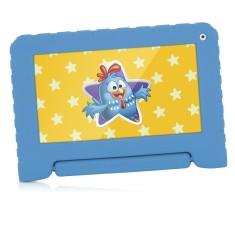 "Tablet Multilaser Galinha Pintadinha NB249 8GB 7"" Android 2 MP 4.4 (Kit Kat)"