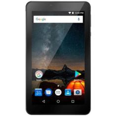"""Tablet Multilaser Quad Core 32GB LCD 7"""" Android 8.1 (Oreo) 2 MP NB312"""