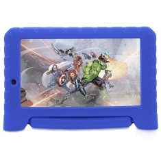 "Tablet Multilaser Disney Vingadores Plus NB280 8GB 7"" Android 2 MP Filma em HD 7.0 (Nougat)"