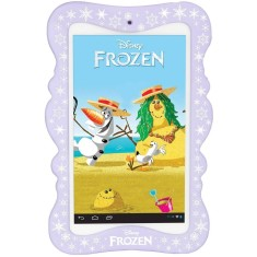 "Foto Tablet Tectoy Frozen TT-5400i 8GB 7"" Android 2 MP"
