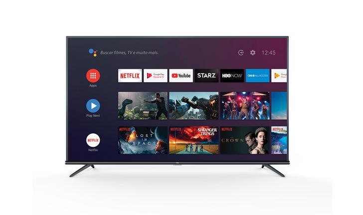 TCL anuncia nova linha de Smart TVs 4K com Android TV no Brasil
