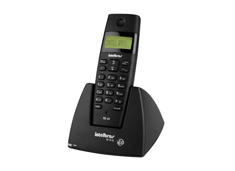 77b6db69c1 Telefone sem Fio Intelbras TS 40ID