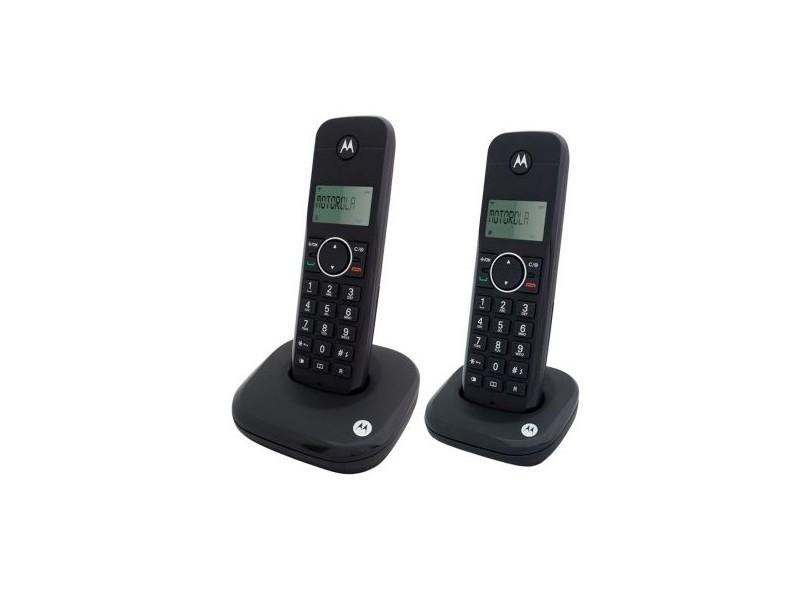 358e6c2a2 Telefone sem Fio Motorola MOTO500ID2 com 1 Ramal
