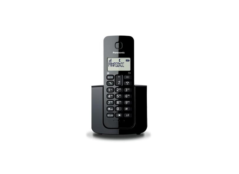119f93d46 Telefone sem Fio Panasonic KX-TGB110LBB