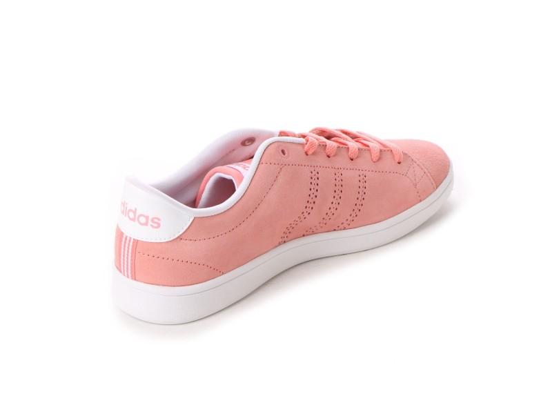a9a9d7ceaff Tênis Adidas Feminino Casual Advantage Clean QT