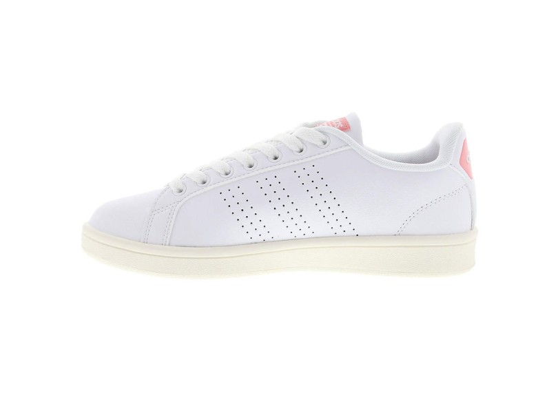 213fafc0be6 Tênis Adidas Feminino Casual Cloudfoam Advantage Clean