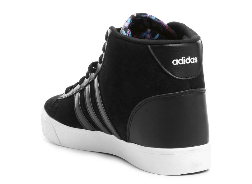 0d5cd6f39e3 Tênis Adidas Feminino Casual Cloudfoam Daily Qt Mid