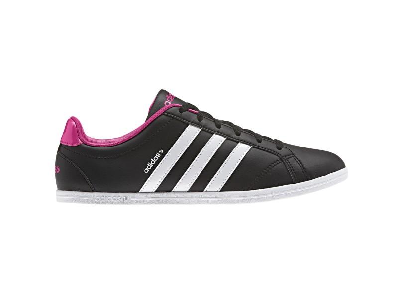 cb9224c8f Tênis Adidas Feminino Casual Coneo QT