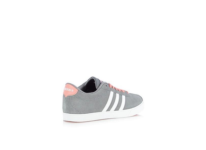 25eac597ab8 Tênis Adidas Feminino Casual Courtset