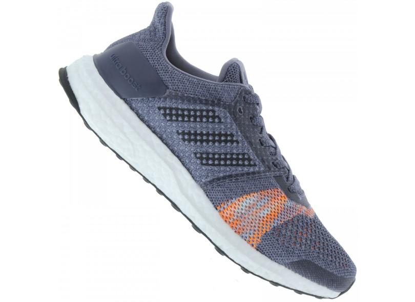 d3bfc0b2107af Tênis Adidas Feminino Corrida UltraBoost ST