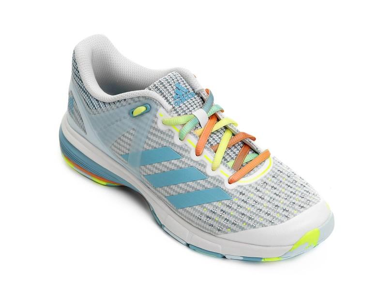 5cf41f89970 Tênis Adidas Feminino Handebol Court Stabil 13