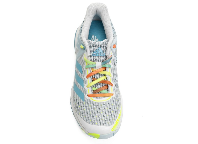 6e53c92618d Tênis Adidas Feminino Handebol Court Stabil 13