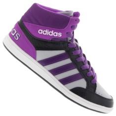 Tênis Adidas Infantil (Menina) Neo Hoops Mid Casual 8850f1c9b24da