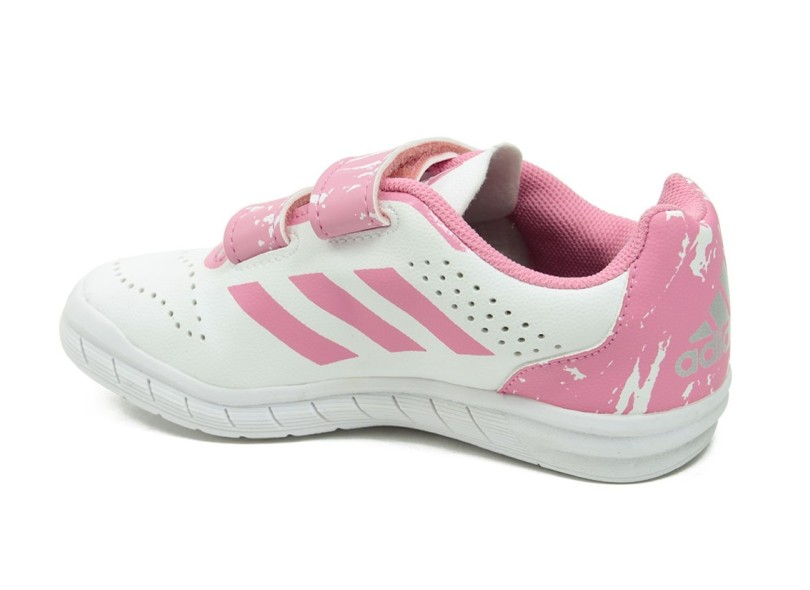 Tênis Adidas Infantil (Menina) Casual QuickSport CF ad08831ef1a