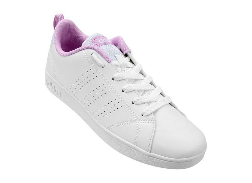 60e052d9dd348 Tênis Adidas Infantil (Menina) Casual Vs Advantage Clean K