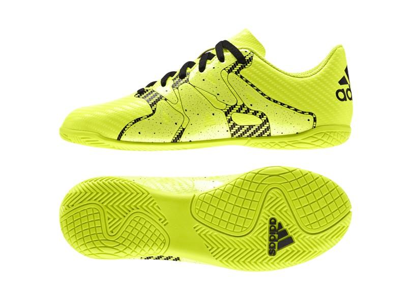 Tênis Adidas Infantil (Menino) Futsal X 15.4 IN a6485ab816c2a