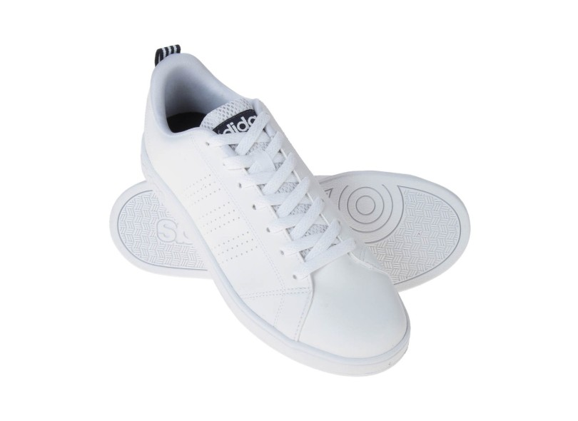 f5a42af5f Tênis Adidas Masculino Casual VS Advantage Clean