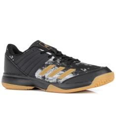 9567a6f238 Tênis Adidas Masculino Ligra 5 Vôlei