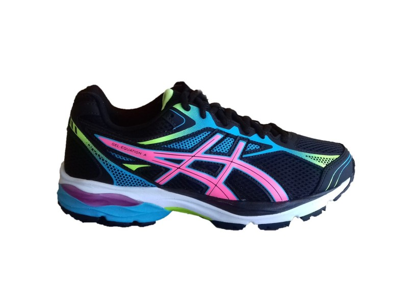 2c96b3e5476d2 Tênis Asics Feminino Gel Equation 9 Corrida