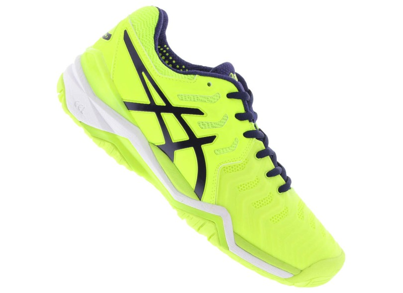 Tênis Asics Masculino Tenis e Squash Gel Resolution 7 b693215637aa0