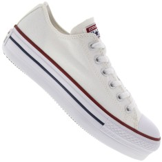 6f574900f24 Tênis Converse All Star Feminino Creeper Plataforma Casual
