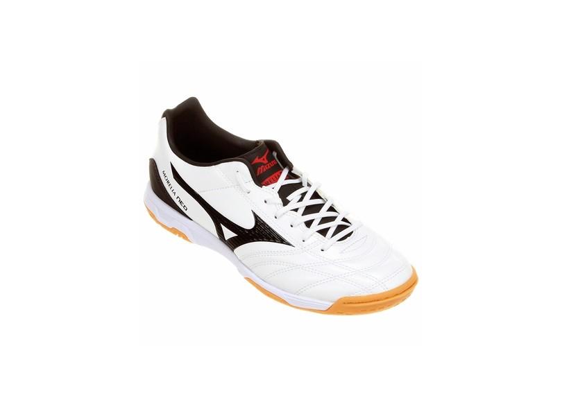 78b4a90f40ff7 Tênis Mizuno Masculino Futsal Morelia Neo Classic