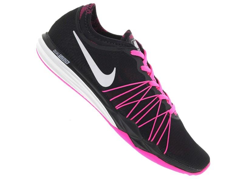 d17e542179 Tênis Nike Feminino Academia Dual Fusion TR HIT Print