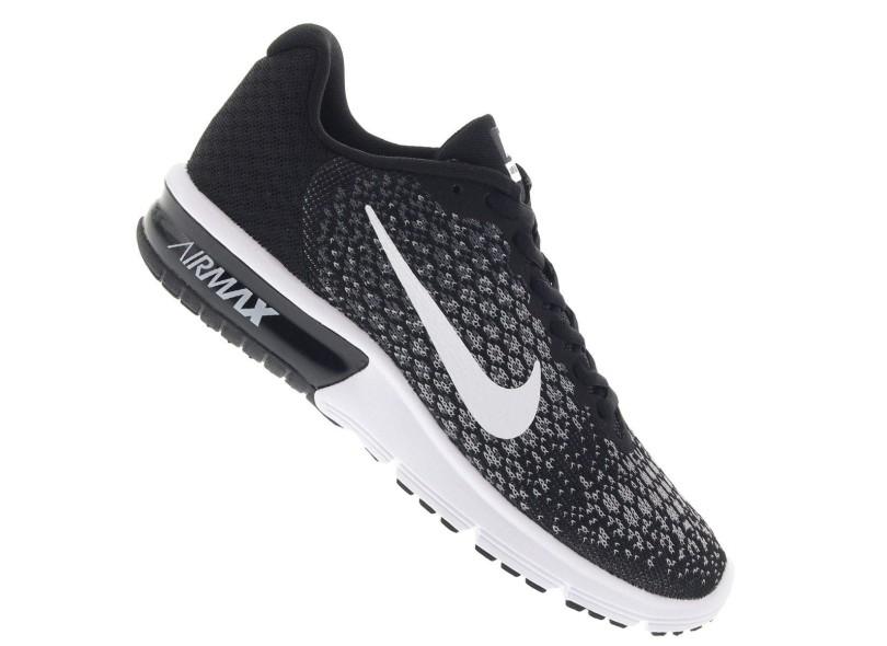 Tênis Nike Feminino Corrida Air Max Sequent 2 fb77cd3a34