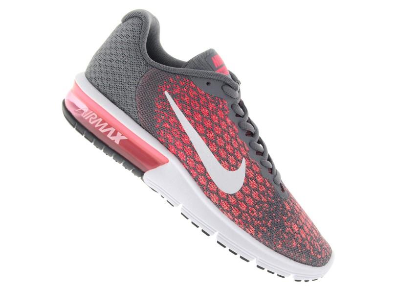 2f5eaf875725a Tênis Nike Feminino Corrida Air Max Sequent 2