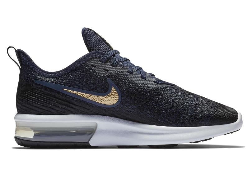 f1b5066cd3 Tênis Nike Feminino Corrida Air Max Sequent 4