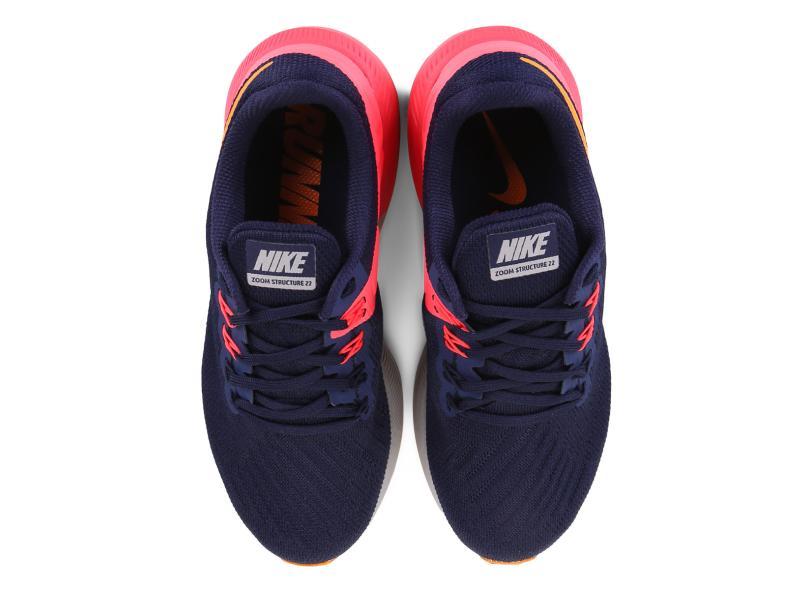 f47f2c1ea02d42 Tênis Nike Feminino Corrida Air Zoom Structure 22