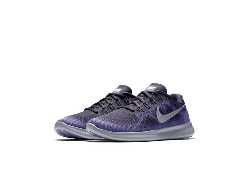 Tênis Nike Feminino Corrida Free RN 2017 cb0f4a0a5f9b7