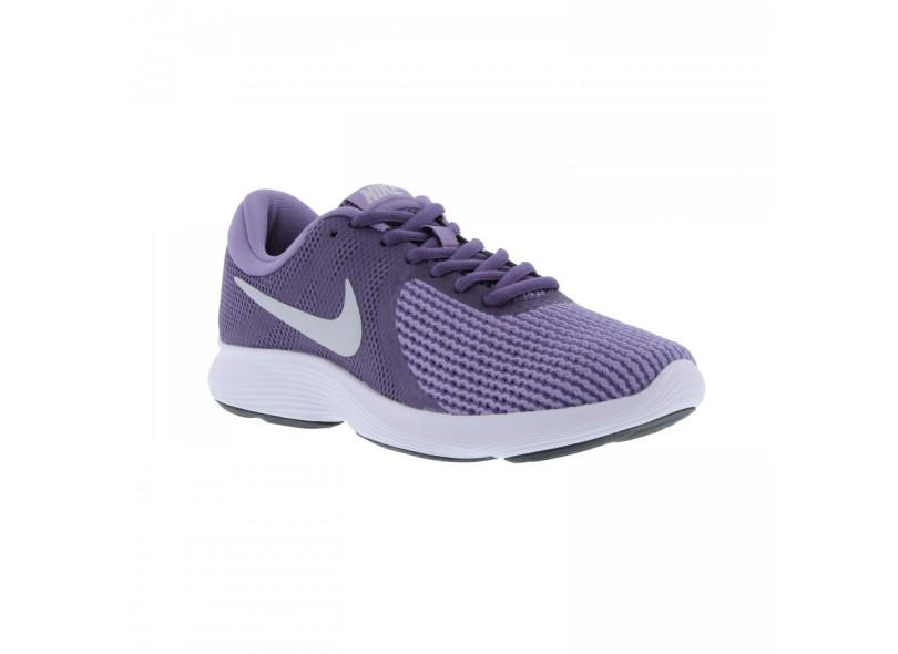 7949bdadf9 Tênis Nike Feminino Corrida Revolution 4